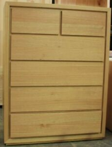 Chest of Drawers, Tallboy, Rondo,OAK