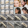 Korean Girl Chic Pearl Hair Clip Bobby Pin Barrette Hairpin Headdress Party Gift