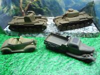 AIRFIX/ESCI,1/32( NON 1/35) SCALE JAPANESE ARMOR/VEHICLE LOT DEAL BUILT LOOK@