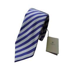 LUIGI BORRELLI Napoli Italia Hombre 7 Plegable Corbata BNWT 100% SEDA MORADO