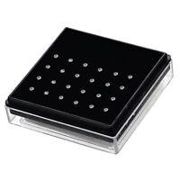 BodyJ4You 24 PCS Nose Rings Bone Stud Pin CZ 20G Stainless Steel Body Piercings