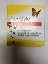 100 Freestyle Lite Glucose Test Strips Dinged Exp 06/2019 - 2020 SHIPS SAME DAY!