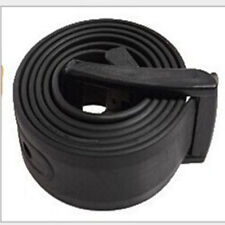 Men's Womens Plain Smooth Silicone Rubber Leather Belt Plastic Buckle Hot