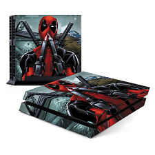 Skin Decal Cover Sticker for Sony PlayStation 4 PS4 - Deadpool 2