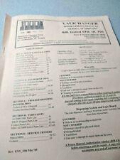 American Changer Valichanger Operation Manual Series Ac20002001