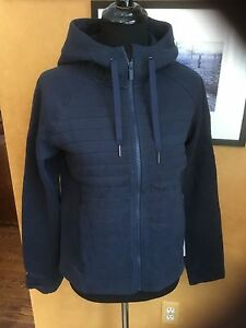 Lululemon Fleece Be True Hoodie Jacket Inkwell 6 8 10 12 $128 NWT