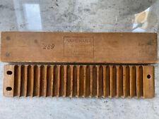 More details for antique karl hart 20 cigar mould old wooden press germany  schwetzingen 1930s