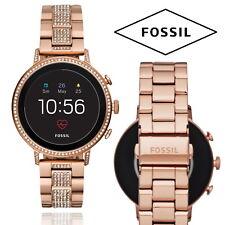 Fossil Venture Gen 4 HR Smartwatch Rose Heart Rate Waterproof Fitness Tracker