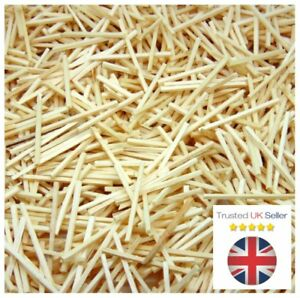 1000 Pcs - Natural Wooden Matchsticks Model Arts Craft Match Splints UK SELLER