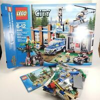 Lego City Forest Police Station 4440 Incomplete Read Description