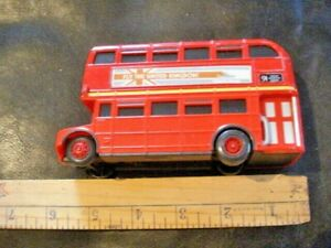 "Gently Used Disney Pixar ""Cars"" Oversized Double Decker Bus"