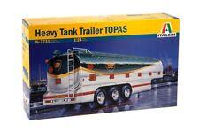 Italeri 3731 - 1/24 Truck / Lkw - Schwerer Tankanhänger Topas - Neu