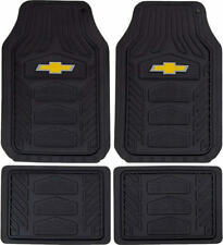 Officially Licensed All Weather Pro Heavy Duty Rubber Floor Mats Set for Chevy