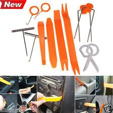 New 12pcs Auto Car Radio Door Clip Panel Trim Dash Audio Removal Pry Tool Set UK