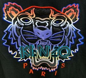 KENZO PARIS GRADIENT TIGER SWEATSHIRT KENZO TIGER SWEAT-SHIRT SMALL BNWT RRP£150