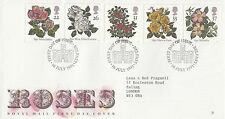 (91169) CLEARANCE GB FDC Roses - Belfast 16 July 1991