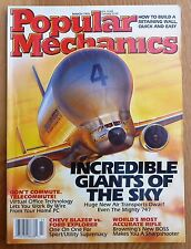 Popular Mechanics. March 1995. Incredible Giants of the Sky, Blazer vs. Explorer