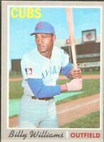 1970 Topps #170 Billy Williams Chicago Cubs Baseball Card