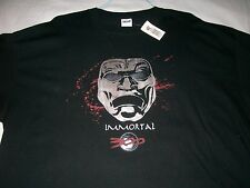 300 the IMMORTALS movie black T-SHIRT NWT Adult: XXXLg Men's XXXL