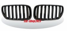 Front Kidney Black Chrome Grille For BMW E83 LCI X3 SUV 2007-2010