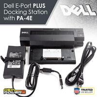 DELL Latitude E5400 E5500 E6220 E6320 E-PORT PLUS Dock Replicator Station + 130W
