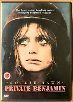 Private Benjamin DVD 1980 Goldie Hawn in the Army Comedy Classic