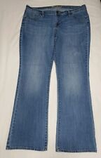 Old Navy Womens The Sweetheart Stretch Jeans Distressed Light Wash Size 16