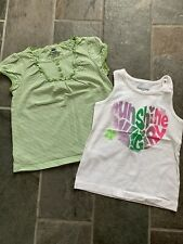 Lot Of Two Summer Faded Glory Tops Size 4T