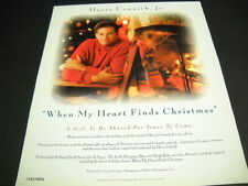 Harry Connick Jr. a gift to be shared for years to come Christmas 1993 promo ad