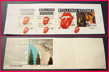 ROLLING STONES 7/21/1982 NICE, France unused Vintage Concert Ticket MICK JAGGER