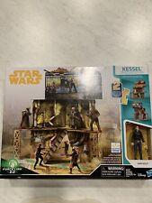 Star Wars Mine Escape Han Solo Action Figure Play Set Hasbro Disney