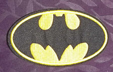 BATMAN BAT LOGO EMBROIDERED PATCH BATMAN VS. SUPERMAN BRUCE WAYNE DARK KNIGHT
