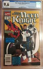 1990 Marc Spector Moon Knight #21 CGC 9.6 Spiderman Punisher Cover