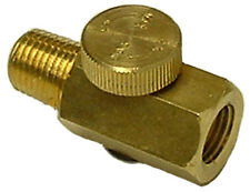 S & G Tool Aid 98025 Brass Air Regulator controls air pressure as needed