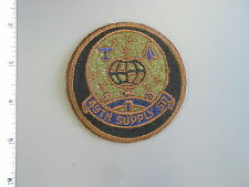 Early USAF issue 49th Supply Squadron, subdued patch from Vanguard, brand new