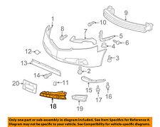Acura HONDA OEM 09-11 TL-Grille-Lower Right 71102TK4A00ZA