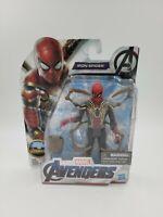 "Hasbro Marvel Avengers 4 Endgame 6"" inch Iron Spider, Spider-man Action Figure"