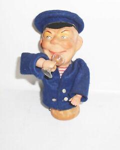 GDR Joke Articles Drunk Sailor Captain Kippeffekt Souvenir Pubs Decor Doll
