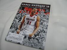 Virginia Cavaliers March Madness Featured Sports Illustrated Cover March 1, 2018
