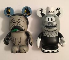 2 Disney Vinylmations SILLY SYMPHONIES SERIES 1 Old King Cole, Flowers and Trees