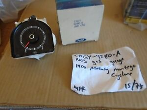 nos ford c8gy-9289-a   1968 FORD MERCURY  CYCLONE MONTEGO  FUEL / GAS GAUGE