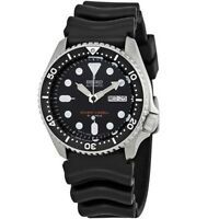 Seiko SKX007 J1 Black Men's Automatic 200m Analog Divers Watch Made In Japan