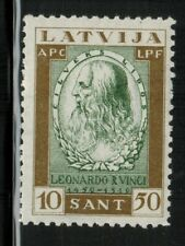 Latvia #CB10 1932 MLH