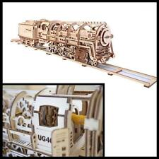 UGEARS Locomotive Mechanical 3D Puzzle Eco Toys Kids Learning Play toy set new