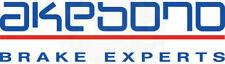 Disc Brake Pad Set-Euro Ultra Premium Ceramic Pads Front Akebono EUR1865