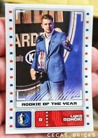 LUKA DONCIC ROOKIE OF THE YEAR  PANINI NBA 2019/20 EUROPE EDITION  HOT HOT