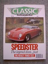 Classic & Sportscar (May 1990) Porsche 356, 911 Speedster, Morgan 8, Lancia Beta