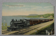 "1908 POSTCARD TRAIN C.G.R. EXPRESS ""OCEAN LIMITED"" UNPOSTED VALENTINES & SONS"