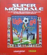 album PANINI SUPERMONDIALE NUOVO-COMPLETO/FULL USA 1994 STATI UNITI 94 BAGGIO