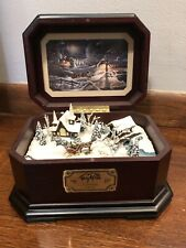 New ListingTerry Redlin Evening Frost Christmas Music Box